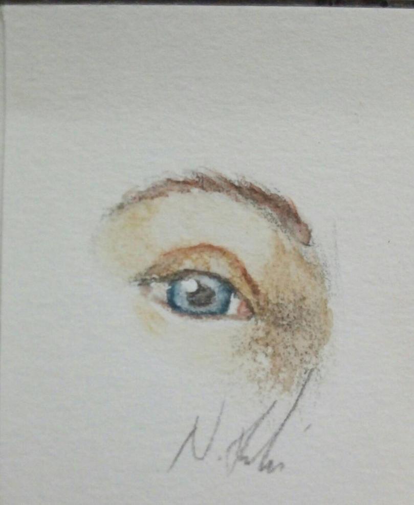 Watercolour Eye prac by Nathan-R