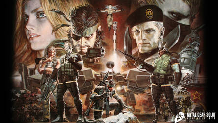 Metal Gear Solid Portable Ops (Official/Logo Add) by Outer-Heaven1974