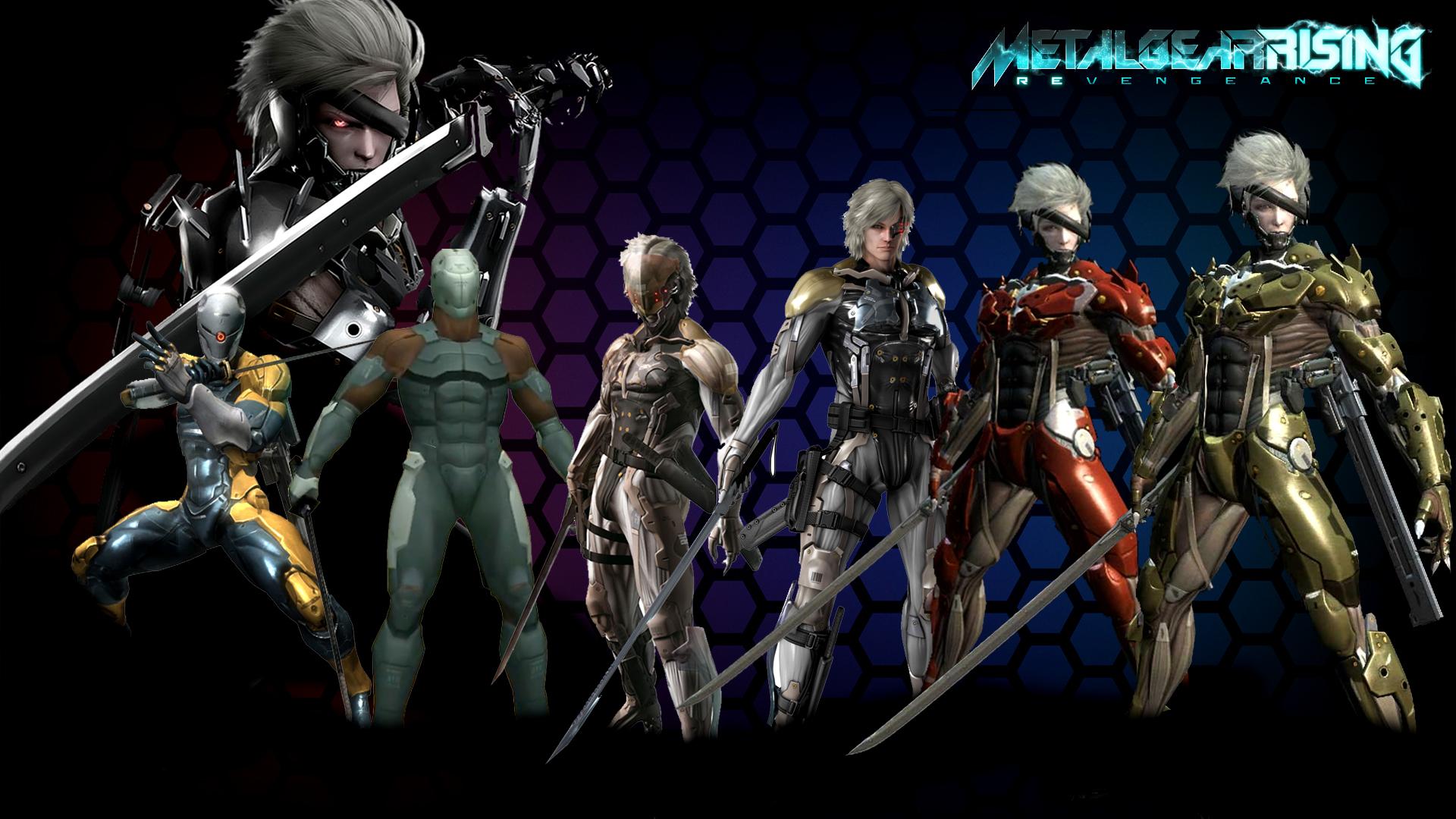 Raiden Mgs2 Hd Metal Gear Rising Reve...