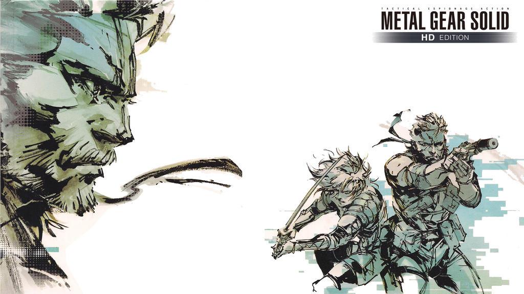Metal Gear Solid Comic Solid Snake Naked Snake