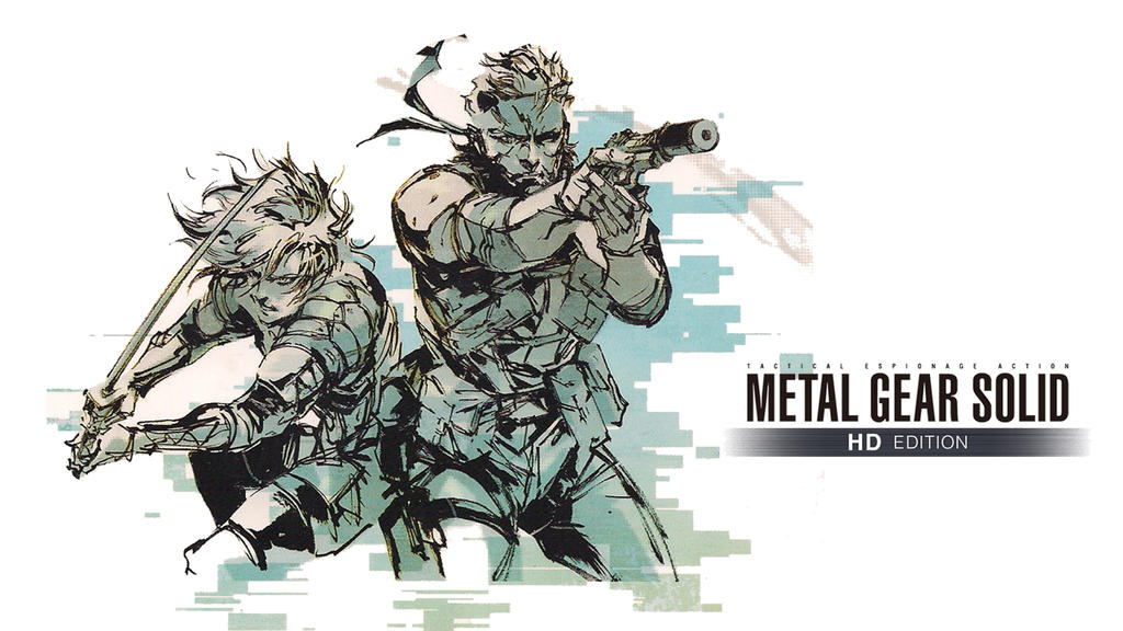 Metal Gear Solid Artwork: Metal Gear Solid HD EDITION (Snake/Raiden) By Outer