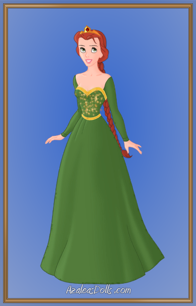Princess Fiona Human By Pastel Dolls On Deviantart
