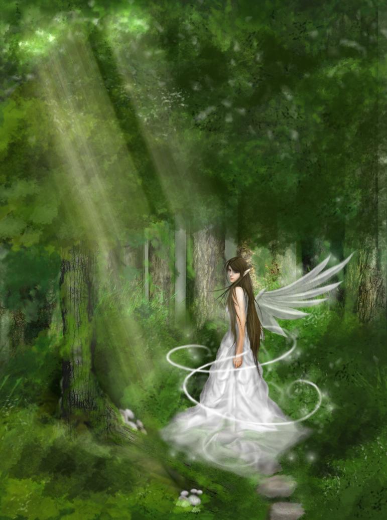 Forest Angel By Littlenatnatz101 On Deviantart