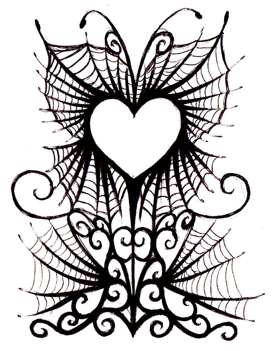 Gothic Heart Tattoos Gothic bat tat.