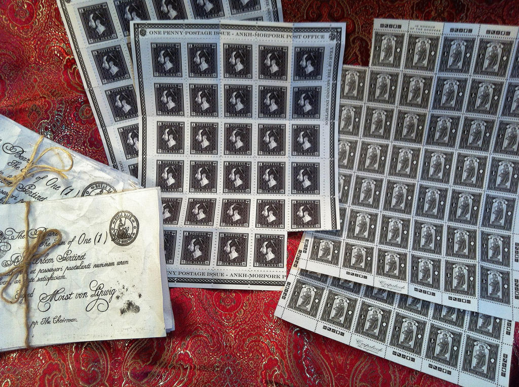 Stamps of Ankh Moorpork by MichaelRMaranda