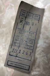 Knight Bus Ticket