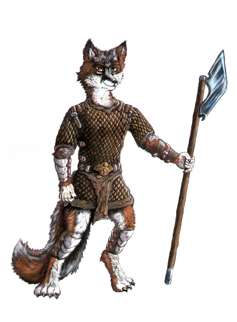 Female Fox Warrior