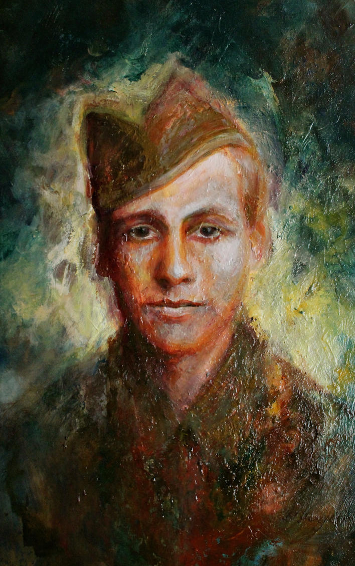 Young soldier, WW1 by portvoller