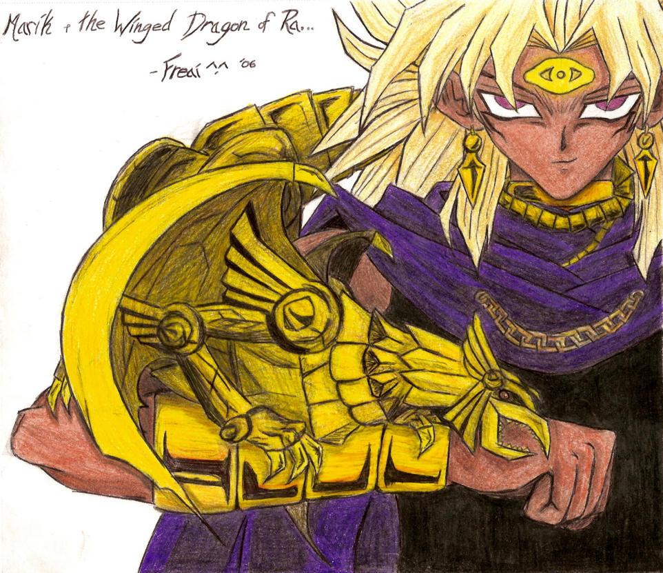 Mariku and the Winged Dragon by Freai