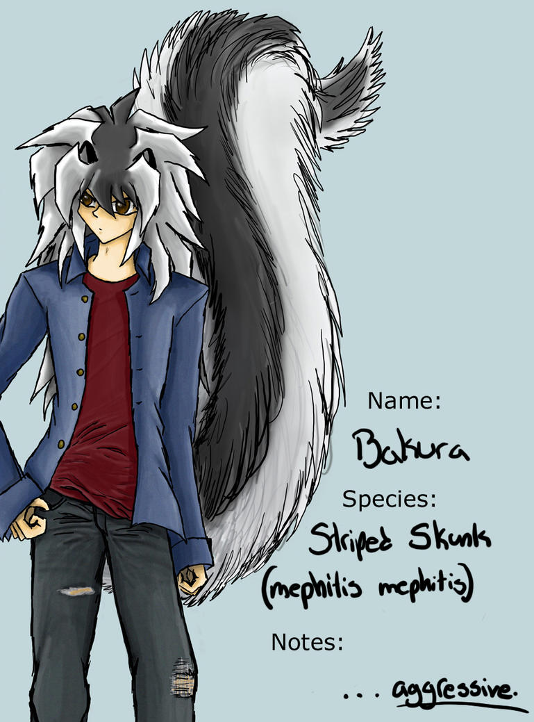 Joshua Carter (Borzas) Profile__Skunk_Bakura_by_Freai