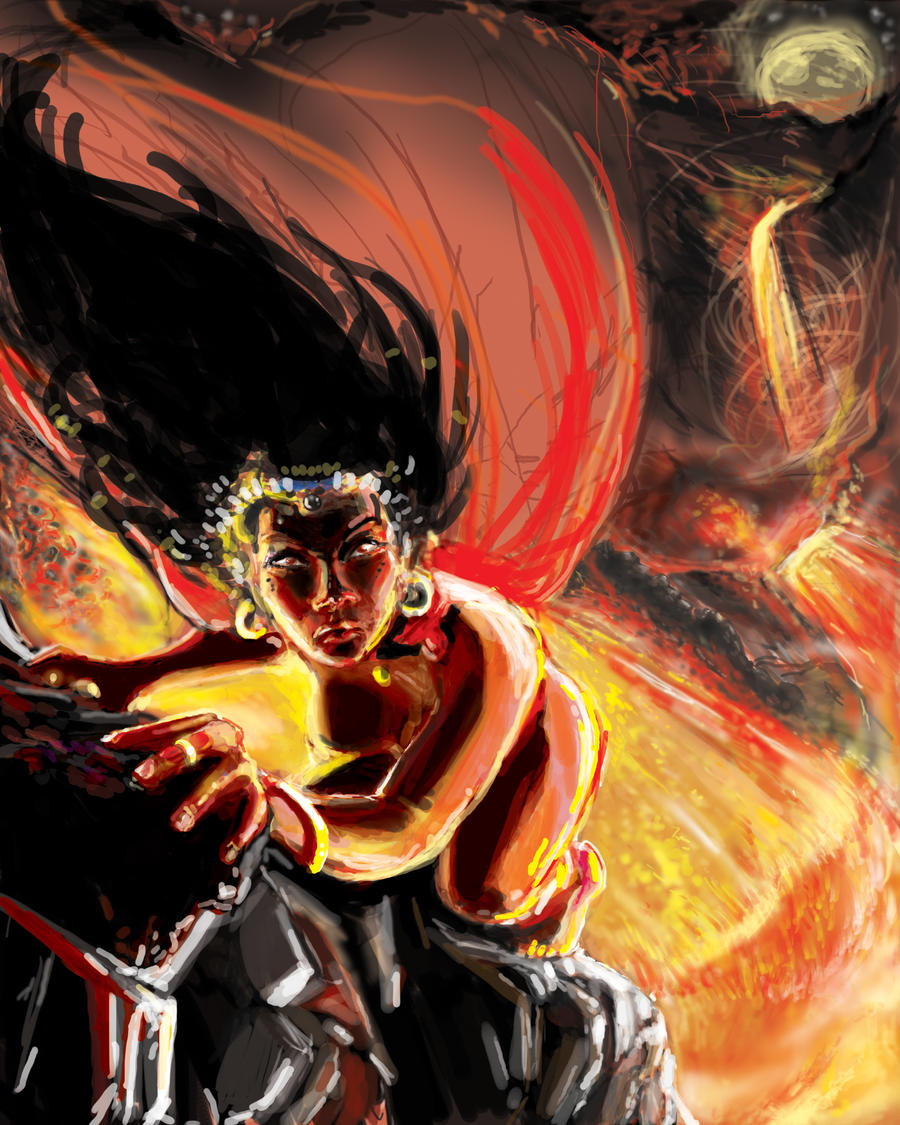 Innana, Queen of Heaven by Mitchellnolte
