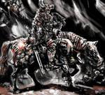 Reiter der Schwarzen Garde