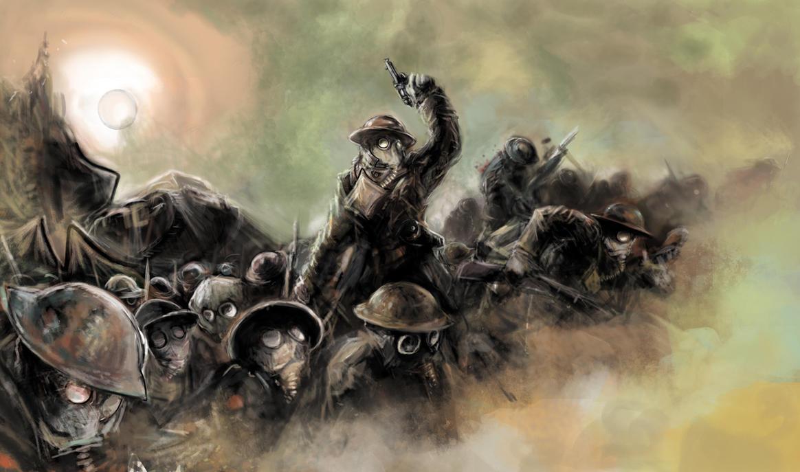 Poison Fog 1917 by Mitchellnolte
