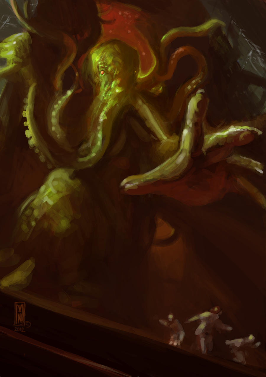 The Call of Cthulhu by Mitchellnolte