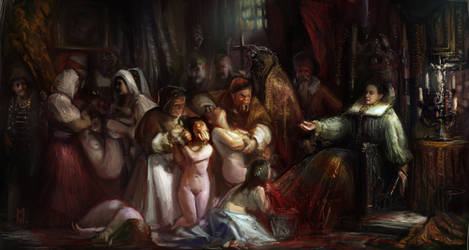 At the Court of the Blood Countess by Mitchellnolte