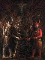 Archdaevas (Lightened for print version) by Mitchellnolte
