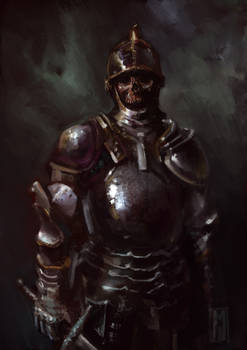 Charnel Knight by Mitchellnolte