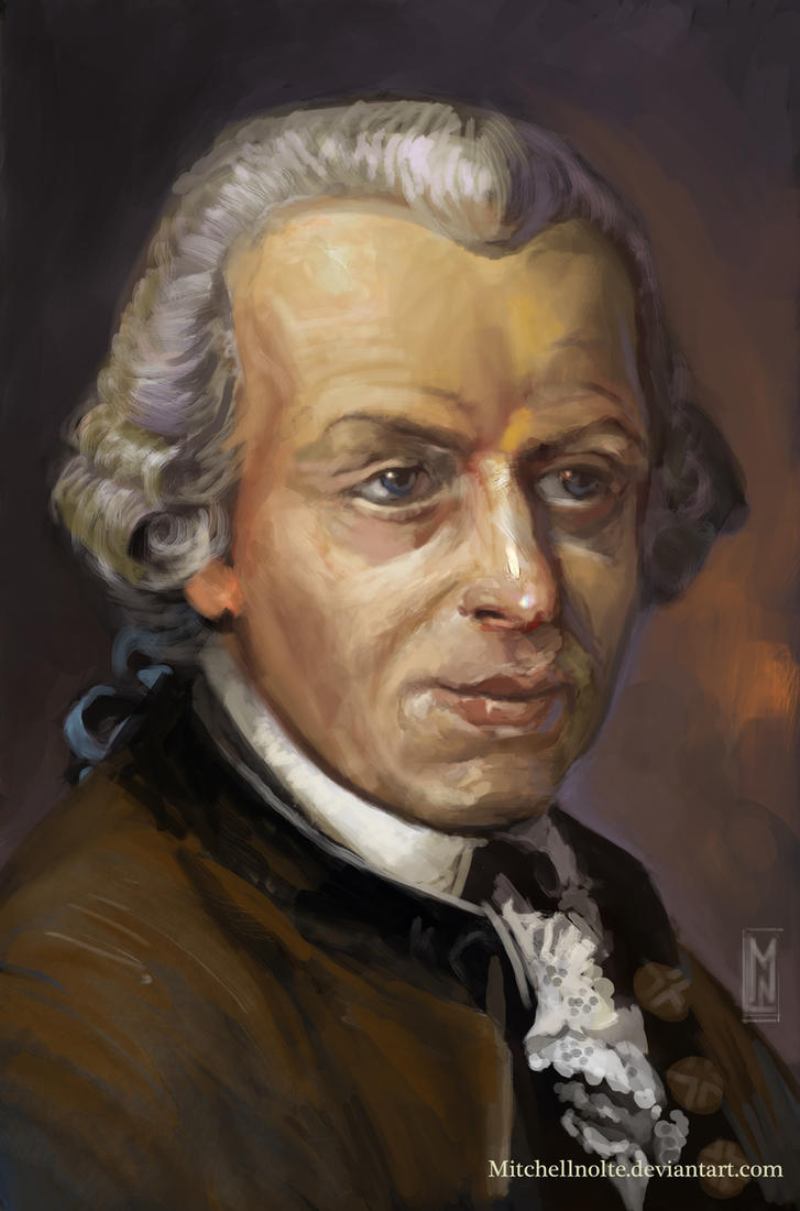 Immanuel Kant by Mitchellnolte