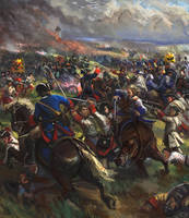 Obstinate and Bloody Battle by Mitchellnolte