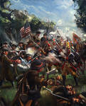 Battling the Hessians: American Revolutionary War