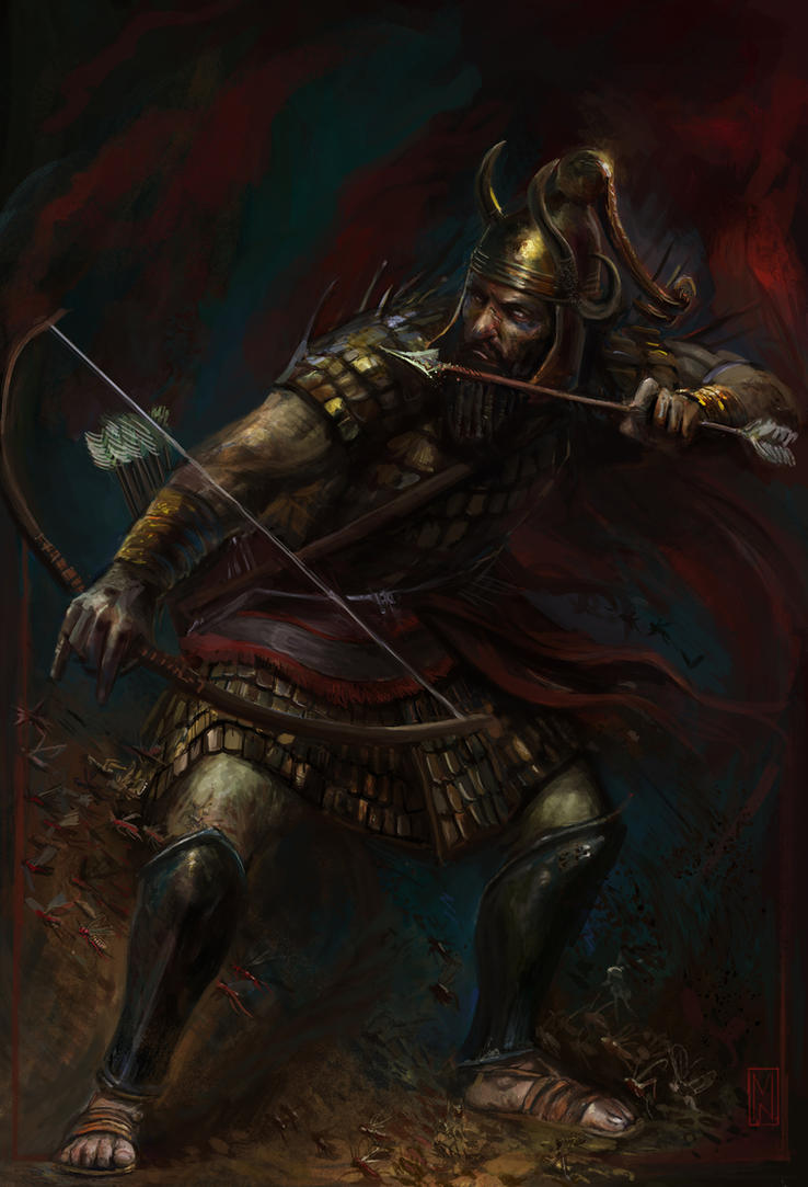 Jarri, Lord of the Bow by Mitchellnolte