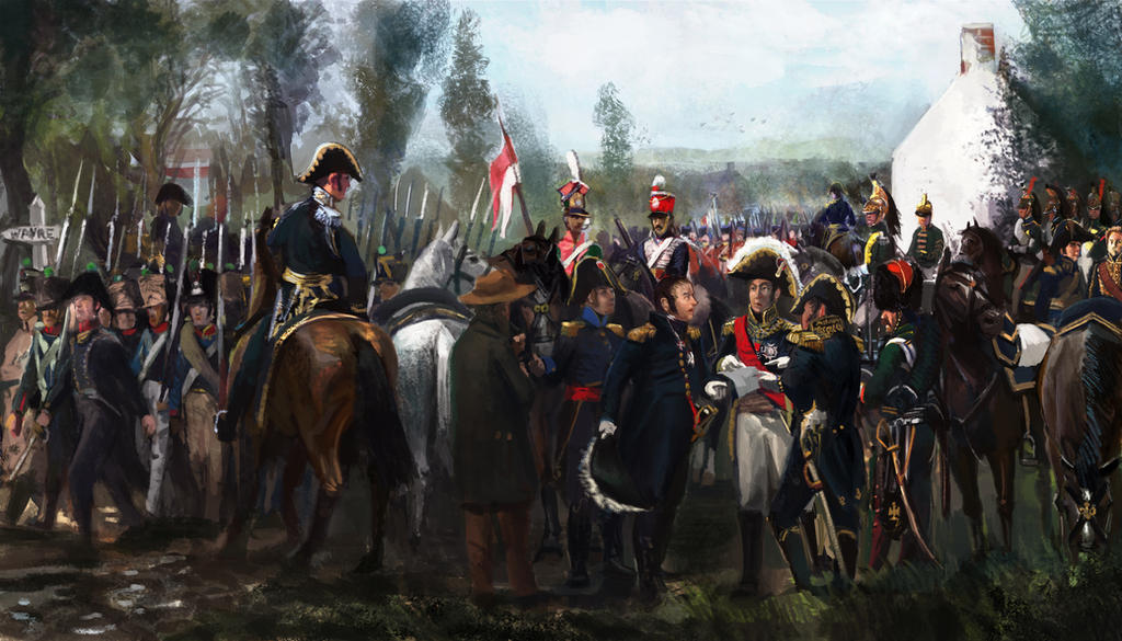 The Road to Wavre: Scourge of War Waterloo by Mitchellnolte