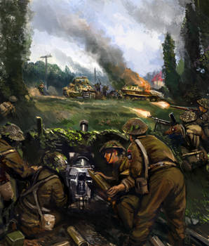 Normandy 1944 by Mitchellnolte