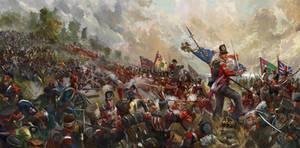 Battle of Barrosa 1811 (art for Forlorn Hope)