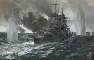 KMS Prinz Eugen , The Battle of Denmark Strait
