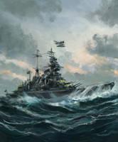 Schwere Kreuzer 'Admiral Hipper '