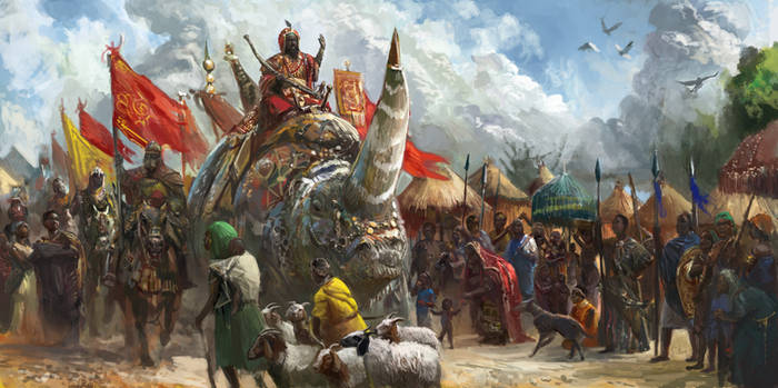 Arrival of the Koghi