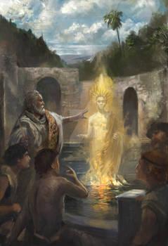Iamblichus' evocation of a spirit at Hamat Gader