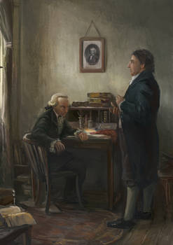 Fichte's first meeting with Kant