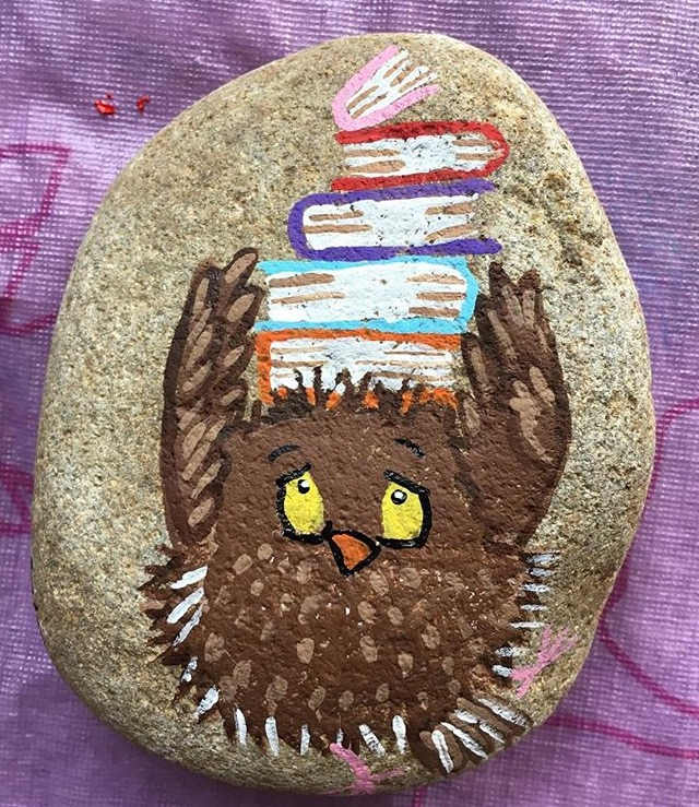 Owl like to read by hanyouangel
