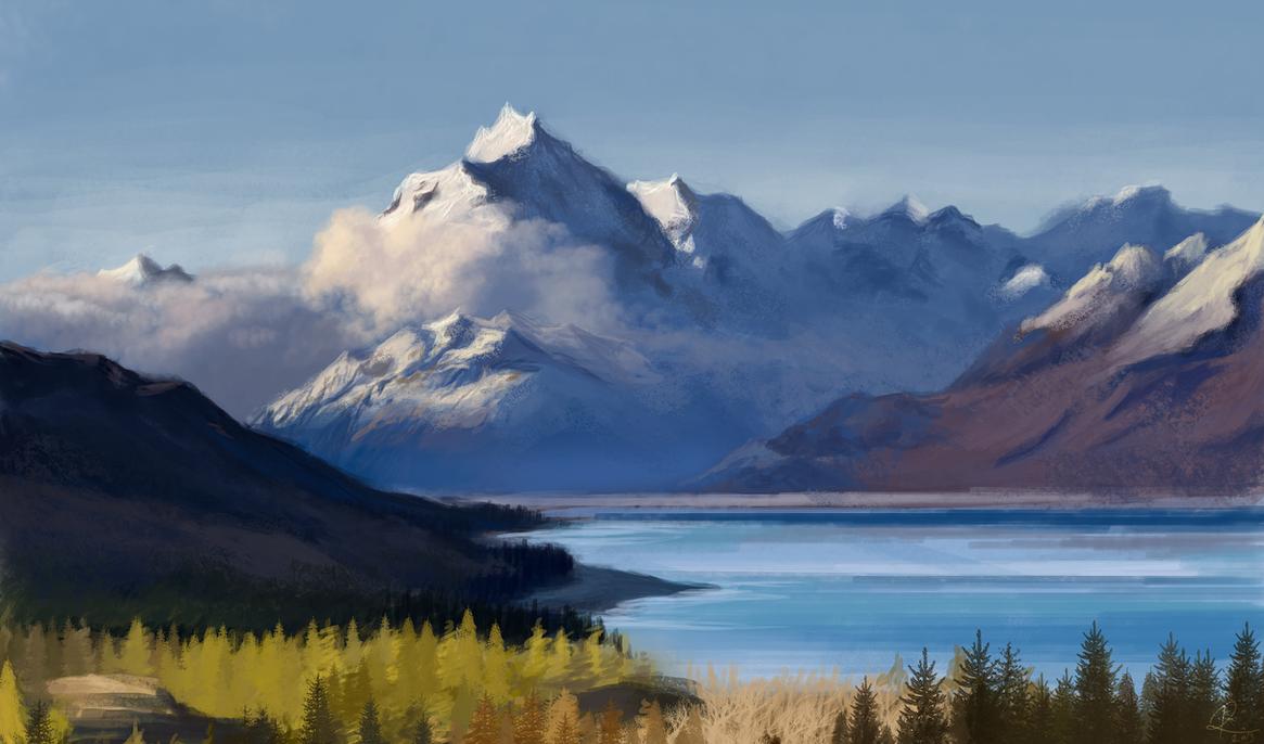 Landscape. by riikozor