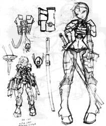 Tau girl armor by N647