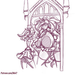 Rose and the mirror of erised by N647