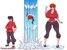 Ranma half big change