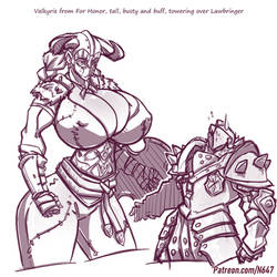 Valkyrie and the lawbringer