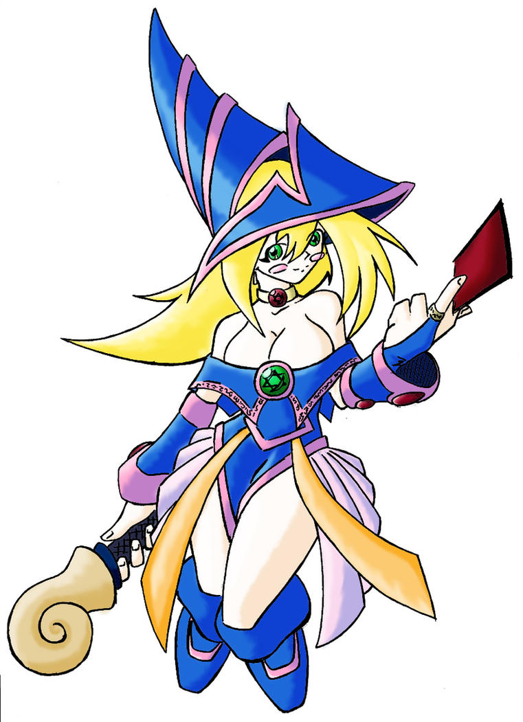 dark magician girl coloring pages - photo#31