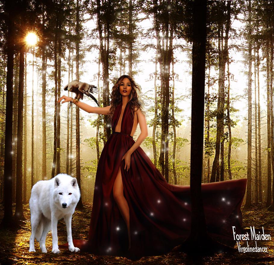 Forest Maiden by virgolinedancer