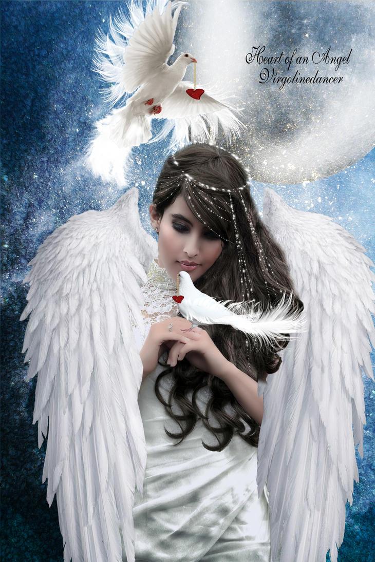 Heart of an Angel by virgolinedancer