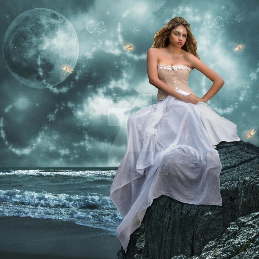 Night Sea Air by virgolinedancer
