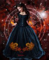 Goddess of Fire by virgolinedancer