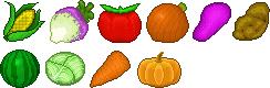 Veggies Icon Commission by tahbikat
