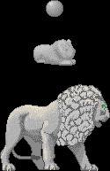 Stone Lion by tahbikat