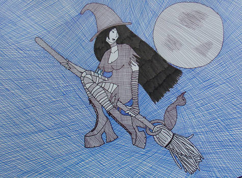 Witch by juani-hokshana