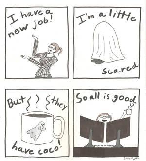 Work comic