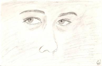 Both eyes, realistic