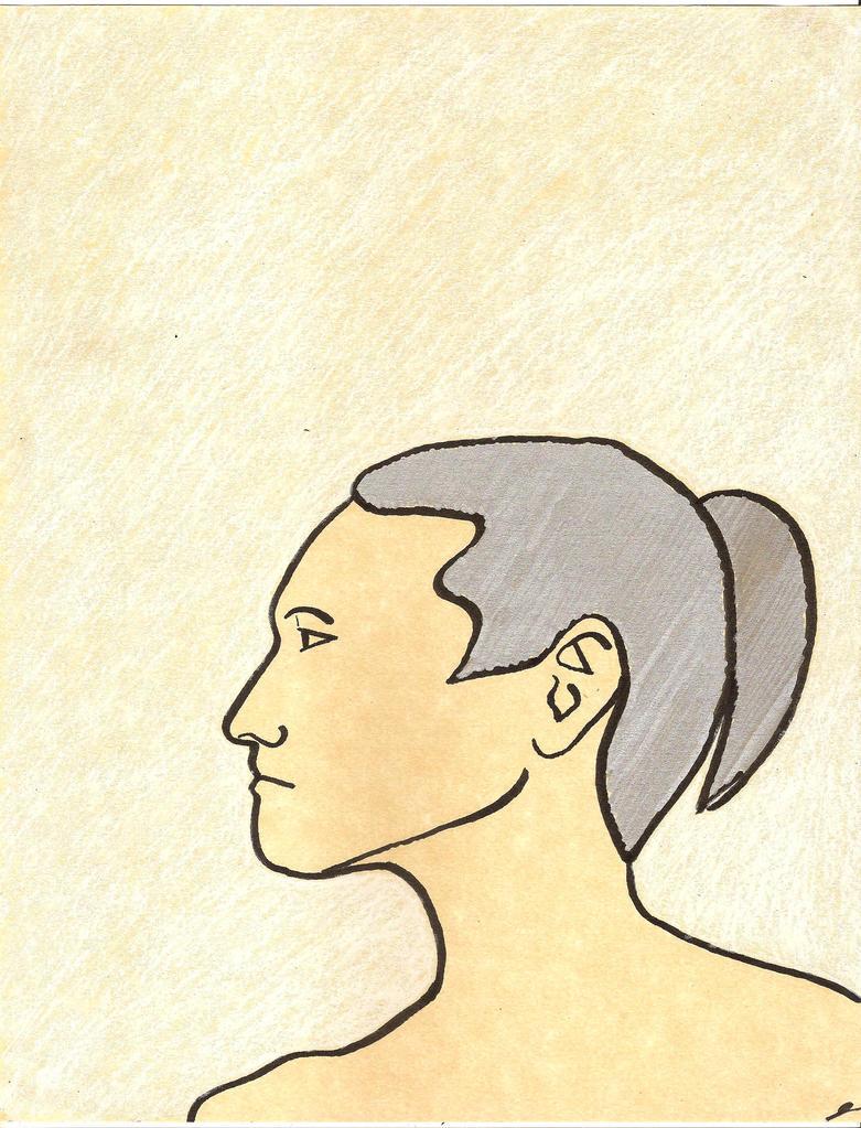 Silver Hair by juani-hokshana